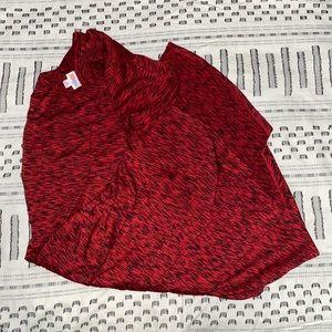 Lularoe Carly Red